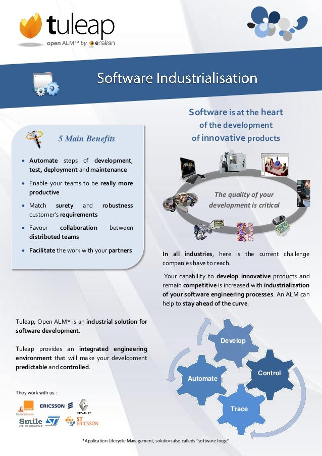 Software is at the heart                                                                                      of the devel...