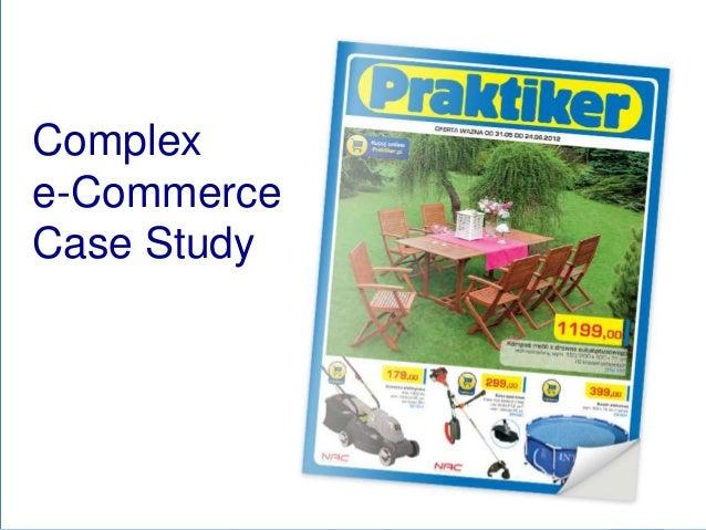 Complex eCommerce for retailer - Praktiker