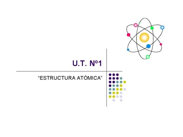 OBJETIVOS • AplicarAplicar las leyes fundamentales de la materia y conceptos de la teoría atómica para comprender la react...