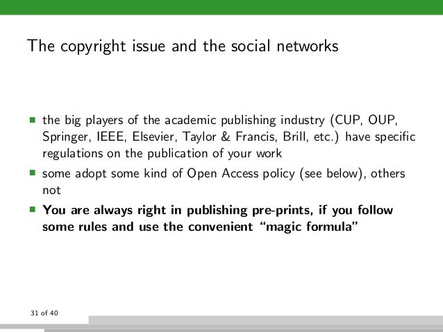 Research paper about copyright