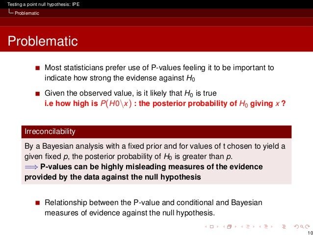 Null Hypothesis?