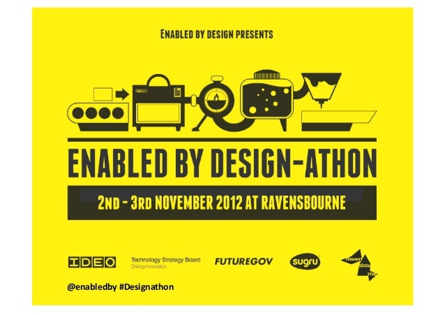 Enabled by Design-athon: Denise Stephens
