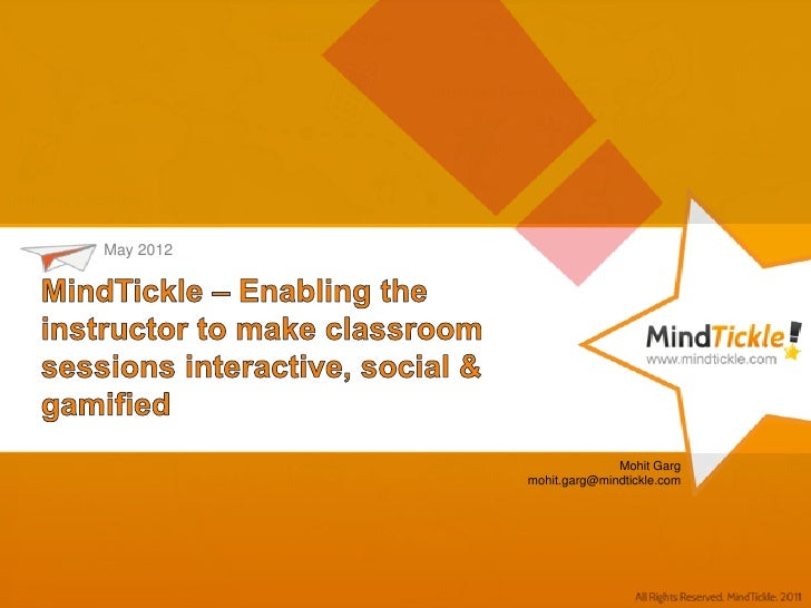 Enabling & supplementing the instructor - Social Gamification Learning Platform