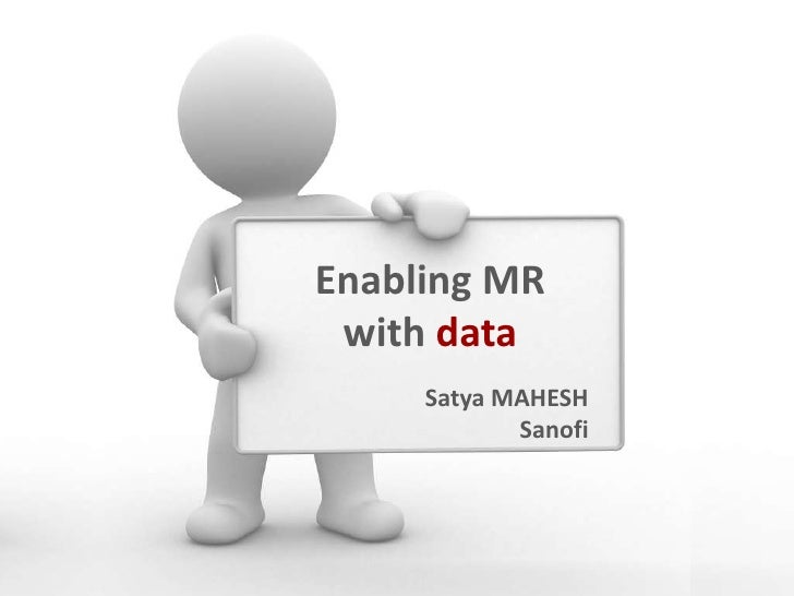 Enabling Medical Reps with Data
