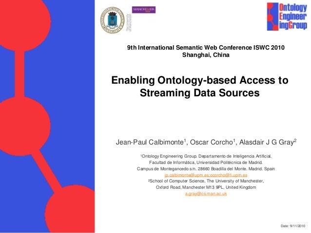 Enabling ontology based streaming data access final