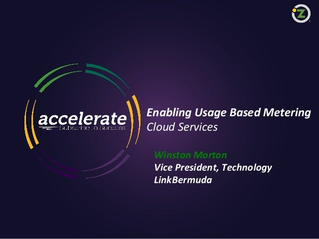 Enabling Usage Based Metering (Accelerate East)