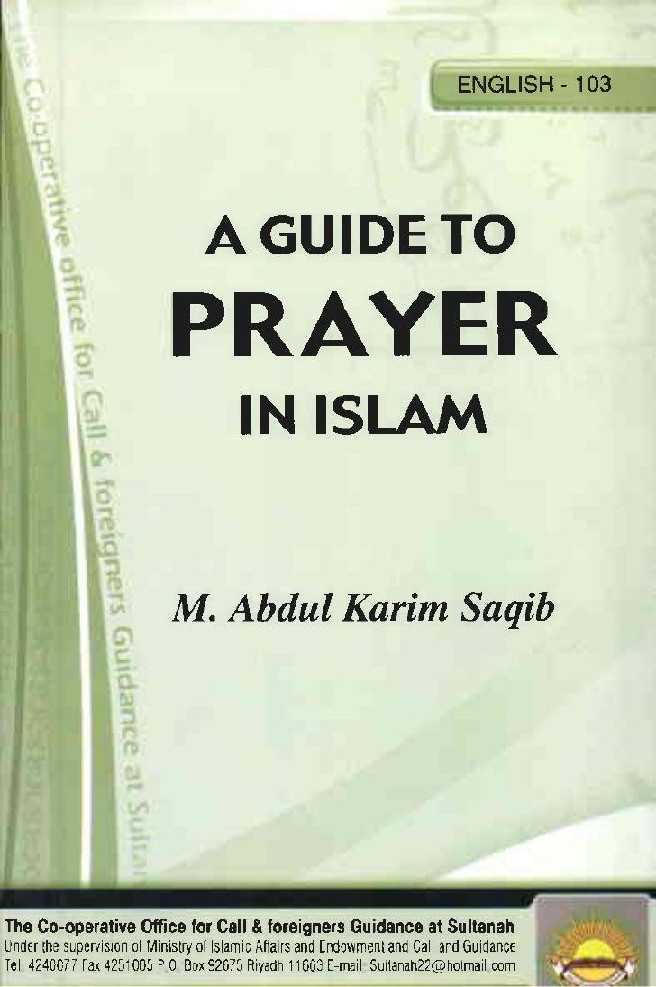 En a guide_to_prayer_in_islam     صفة صلاة النبي صلى الله عليه وسلم