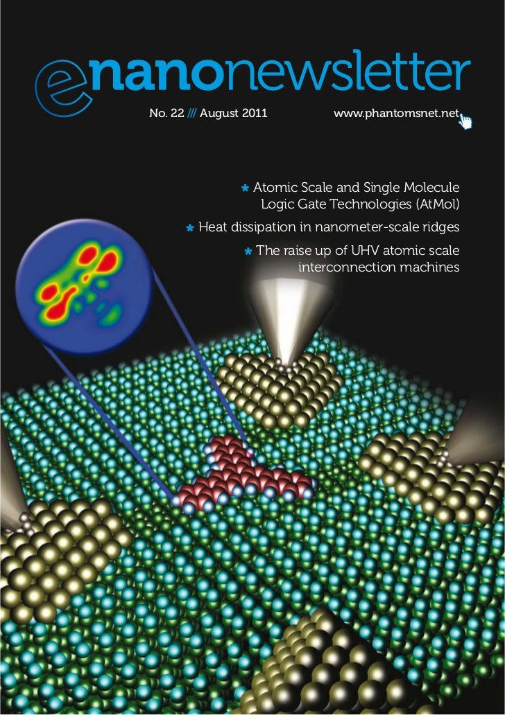 No. 22 /// August 2011         www.phantomsnet.net                   Atomic Scale and Single Molecule                    L...