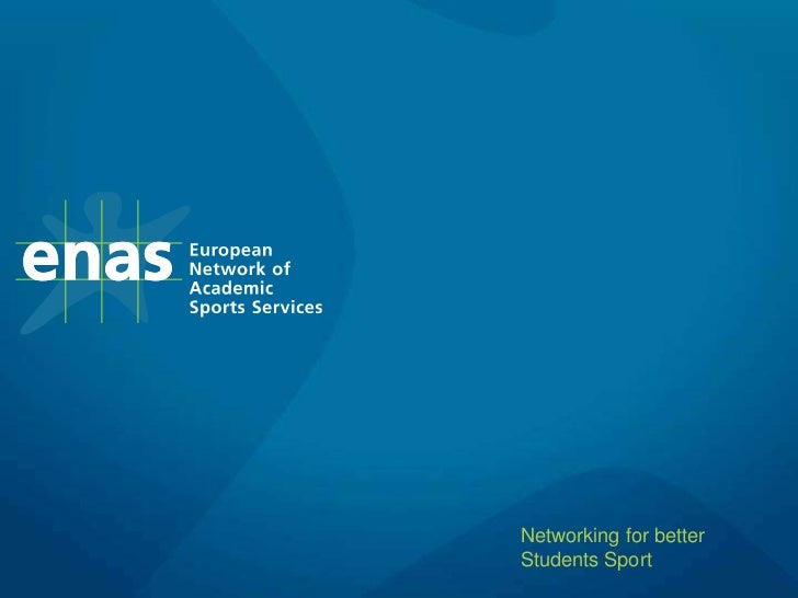 ENAS 2012 presentation