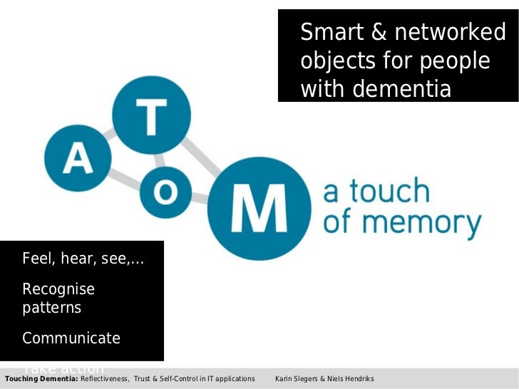 Smart & networked                                                                                    objects for people   ...