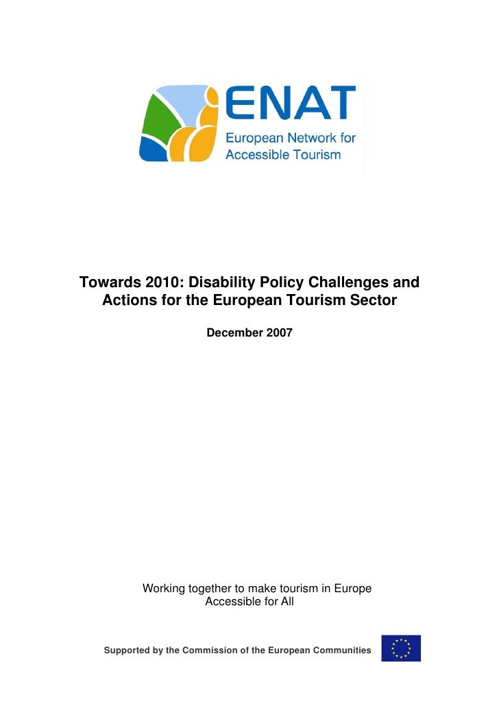 ENAT Study on Inclusive Tourism