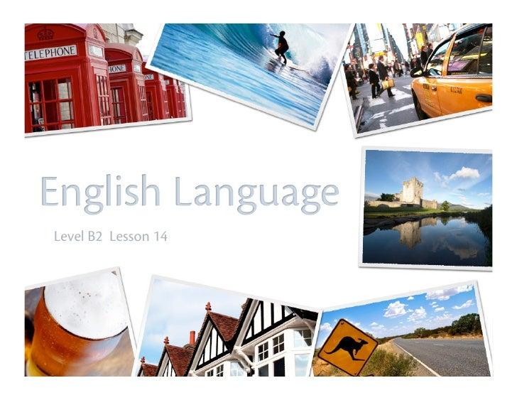 Myngle English Course B2 L14 - Elisa Delaini