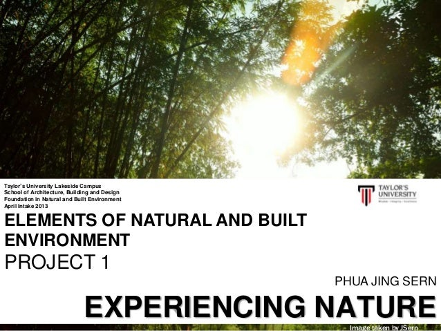 ENBE - Experiencing Nature