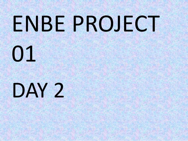 ENBE PROJECT01DAY 2