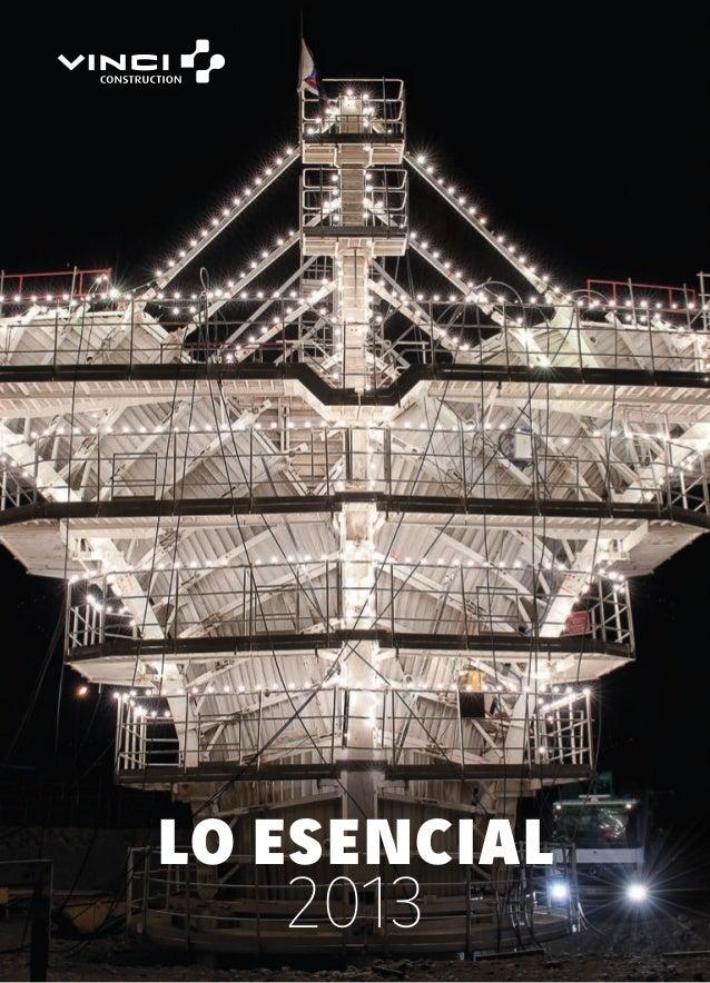 LO ESENCIAL 2013