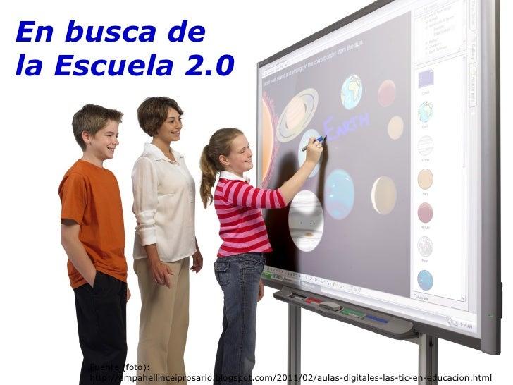 Fuente (foto): http://ampahellinceiprosario.blogspot.com/2011/02/aulas-digitales-las-tic-en-educacion.html En busca de la ...