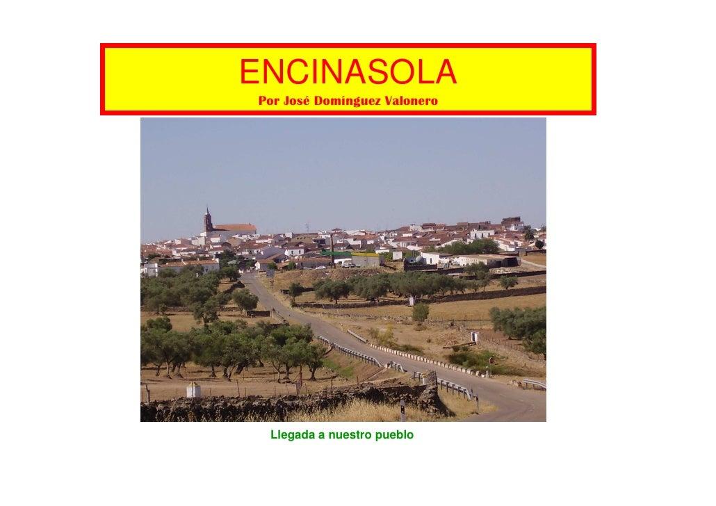 Calles de Encinasola