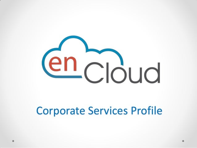 enCloud Corporate Profile