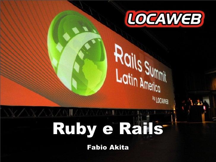 Encontro De Ti - Ruby e Rails