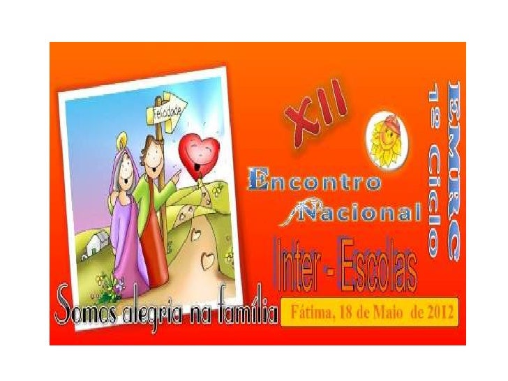 Encontro Nacional inter escolas 1º ciclo_Emrc 2012