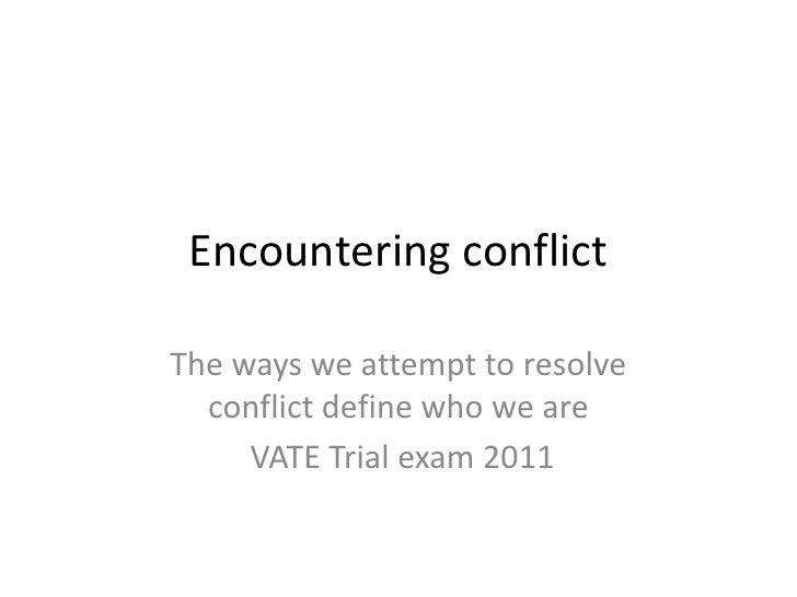 context essay conflict rugmaker