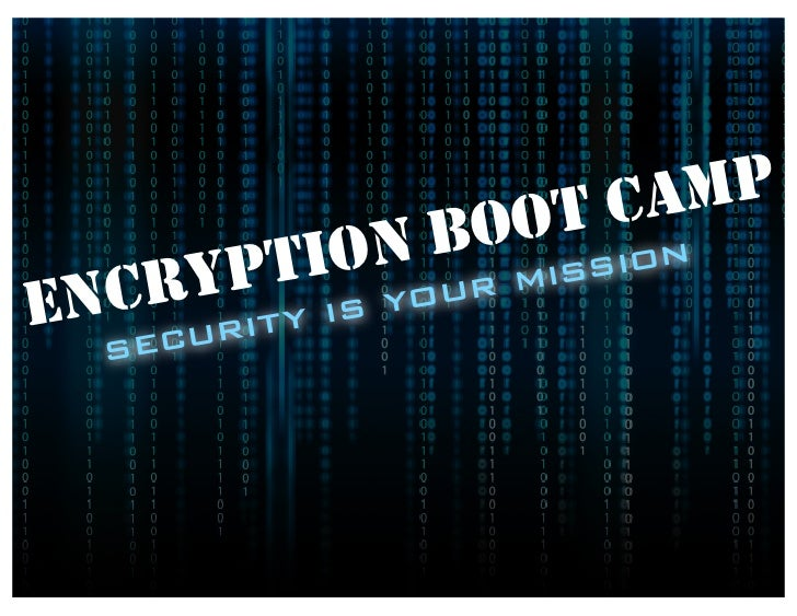Encryption Boot Camp on the JVM