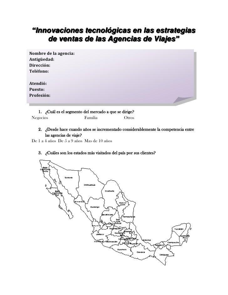 INSTRUMENTO DE MEDICION (ENCUESTA)