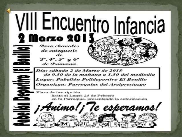 Encuentro en el bonillo marzo 2013