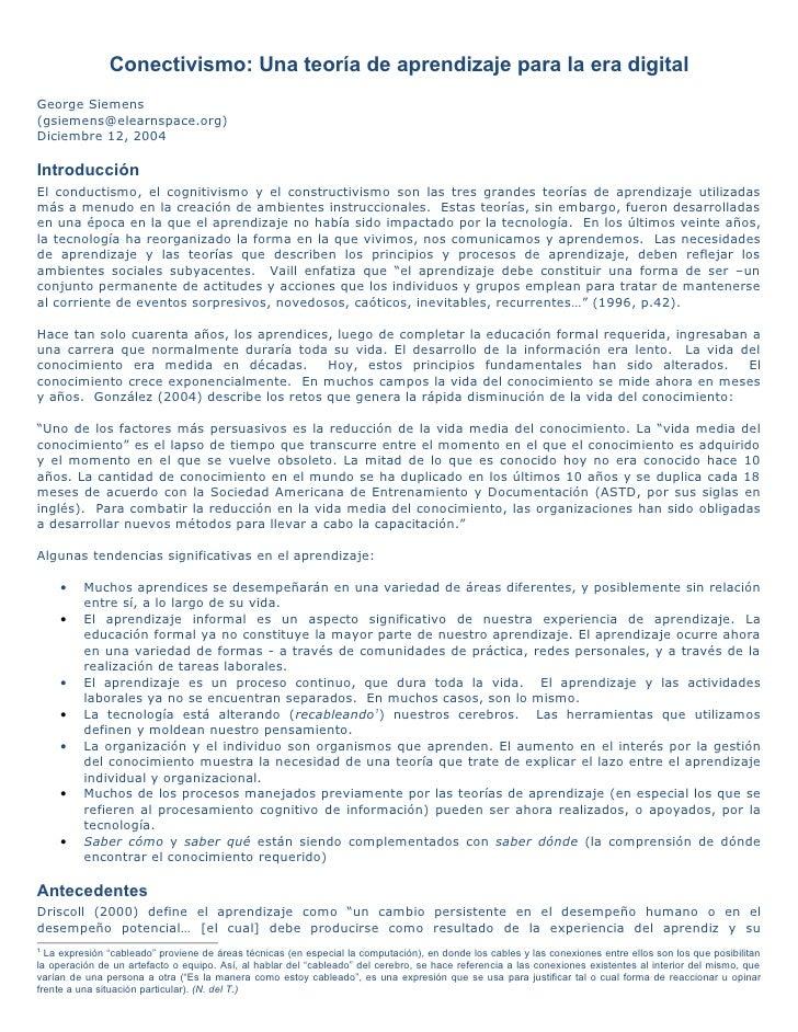 Encuentro normales 2011_siemens(2004)-conectivismo_eva_