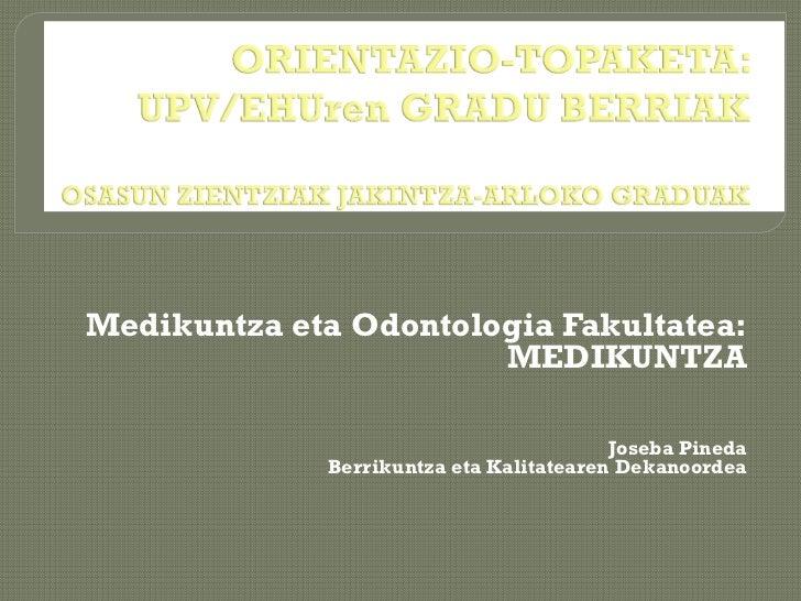 Encuentro orientacion medicina