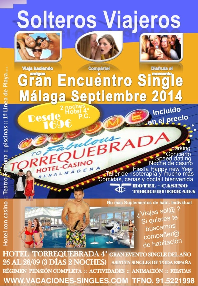 Encuentro Single Malaga Septiembre 2014