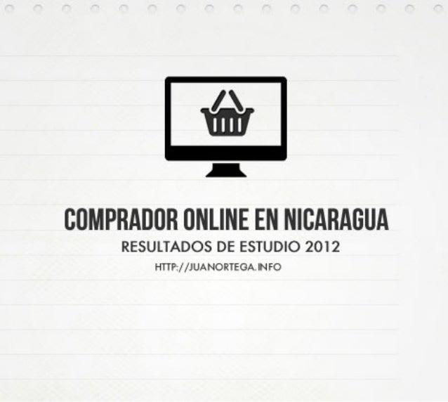Estudio del comprador online en nicaragua