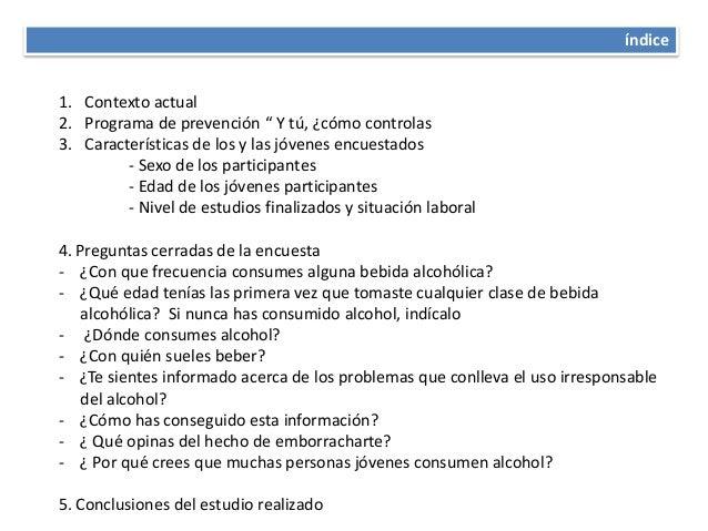 El plan complejo de la profiláctica del descuido del alcoholismo