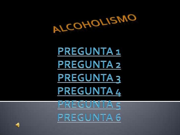 Encuesta alcoholismo