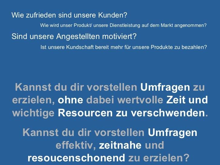 Wie funktioniert EinfacheUmfrage.de?
