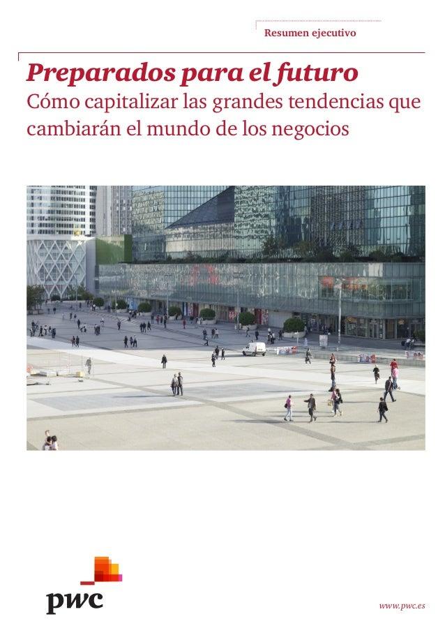 Encuesta Mundial CEOs - Informes PwC - Resumen ejecutivo