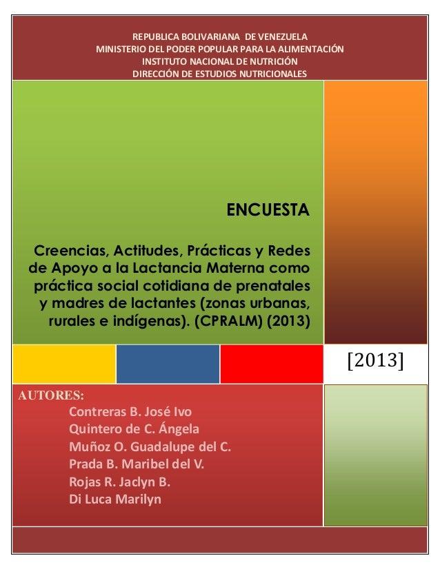 AUTORES:Contreras B. José IvoQuintero de C. ÁngelaMuñoz O. Guadalupe del C.Prada B. Maribel del V.Rojas R. Jaclyn B.Di Luc...