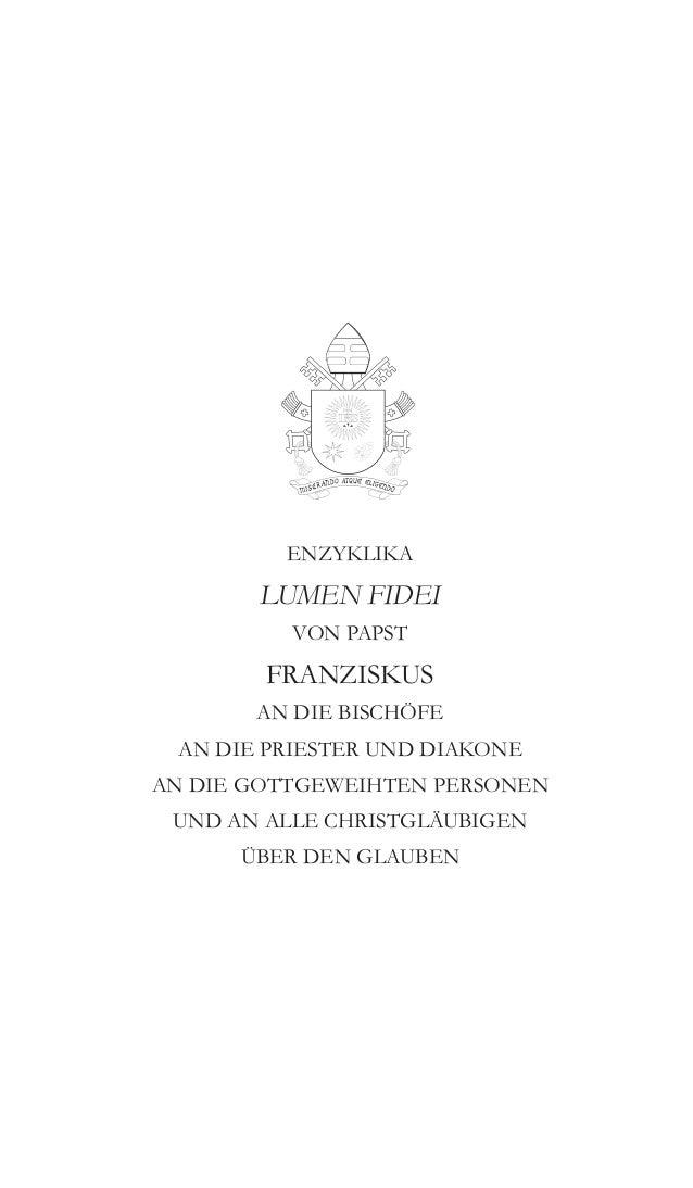 Encyclique lumen fidei   allemand-1