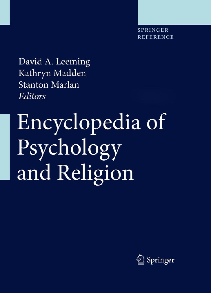 Encyclopediaofpsychologyandreligion 110225130507-phpapp01