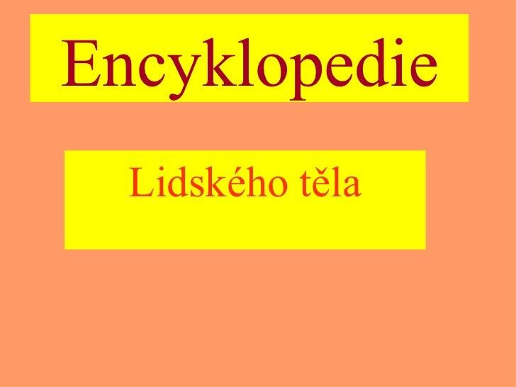 Encyklopedie Lidského těla