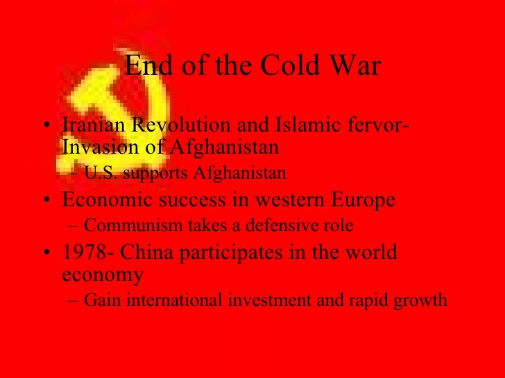 america faces the cold war essay When looking at the cold war in general or in cold war essay by at the end of the vietnam war china was recognised by both america and the soviet union.