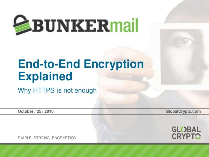 End-to-end encryption explained