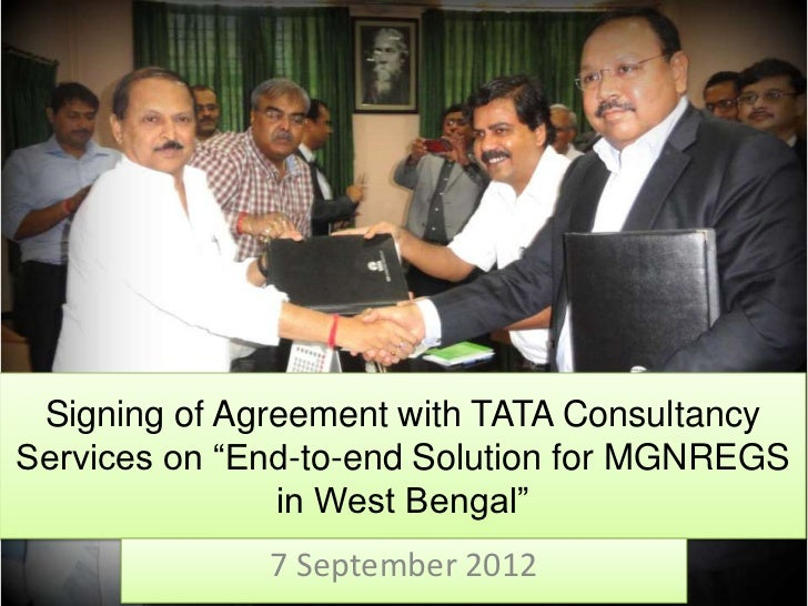 End to-end solution for mgnregs in west bengal
