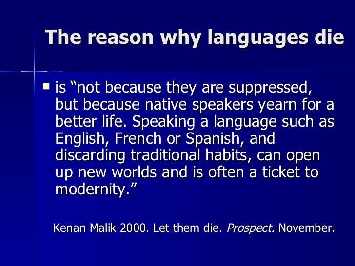 Endangered languages: the full list