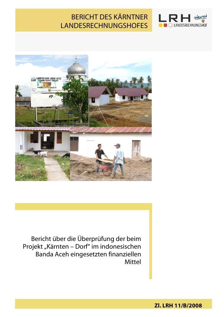LRH Endbericht Banda Aceh