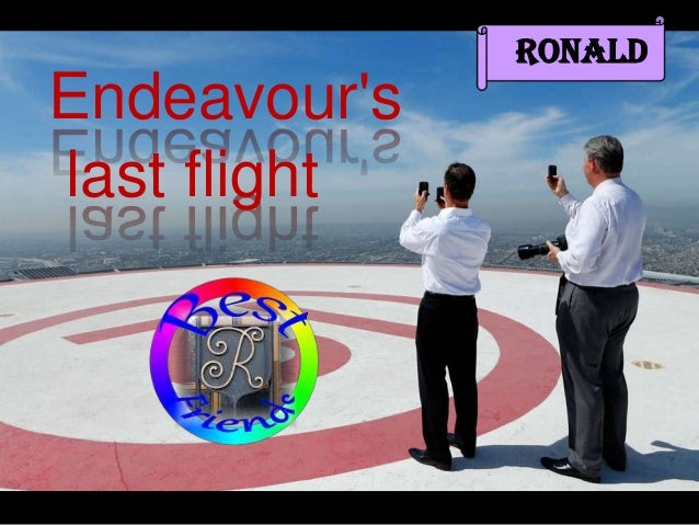 RonaldEndeavourslast flight