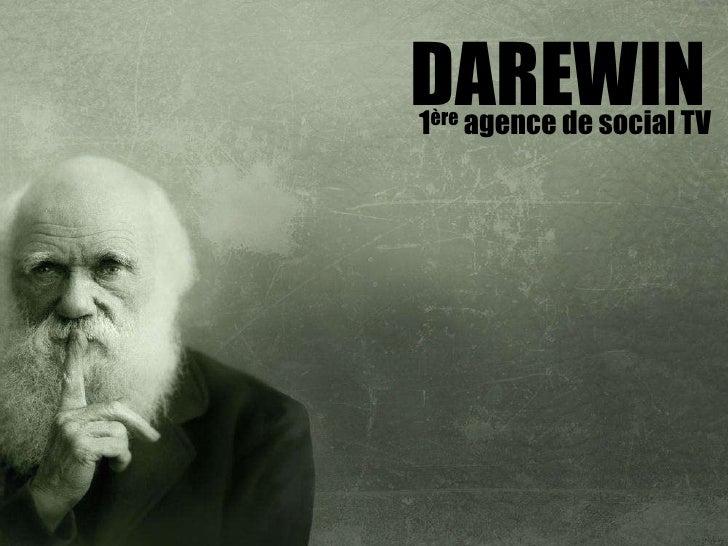 DAREWIN1ère agence de social TV