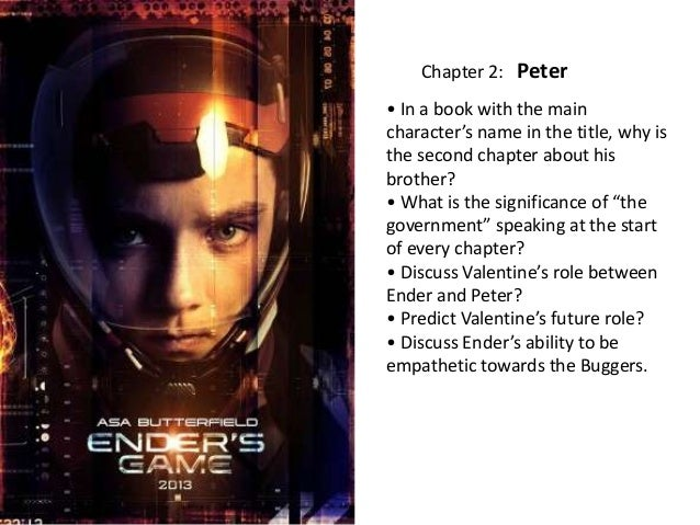 ender s game relationship between ender peter Ender's game is a novel that takes place at an undetermined time in the future while many events in the relationship between ender and peter is.
