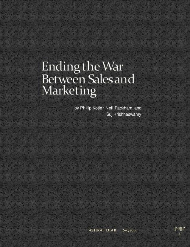 Ending war between_sales_marketing