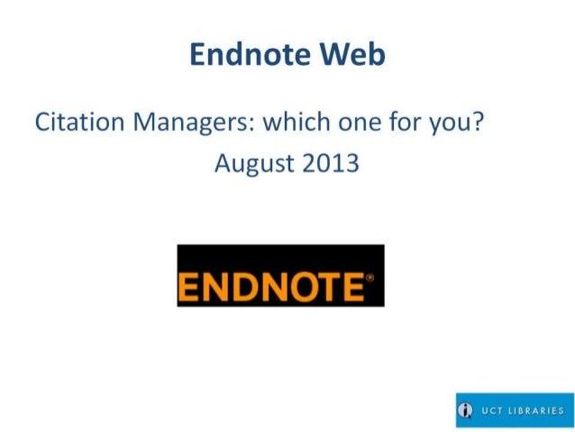 Endnote.web.savvy